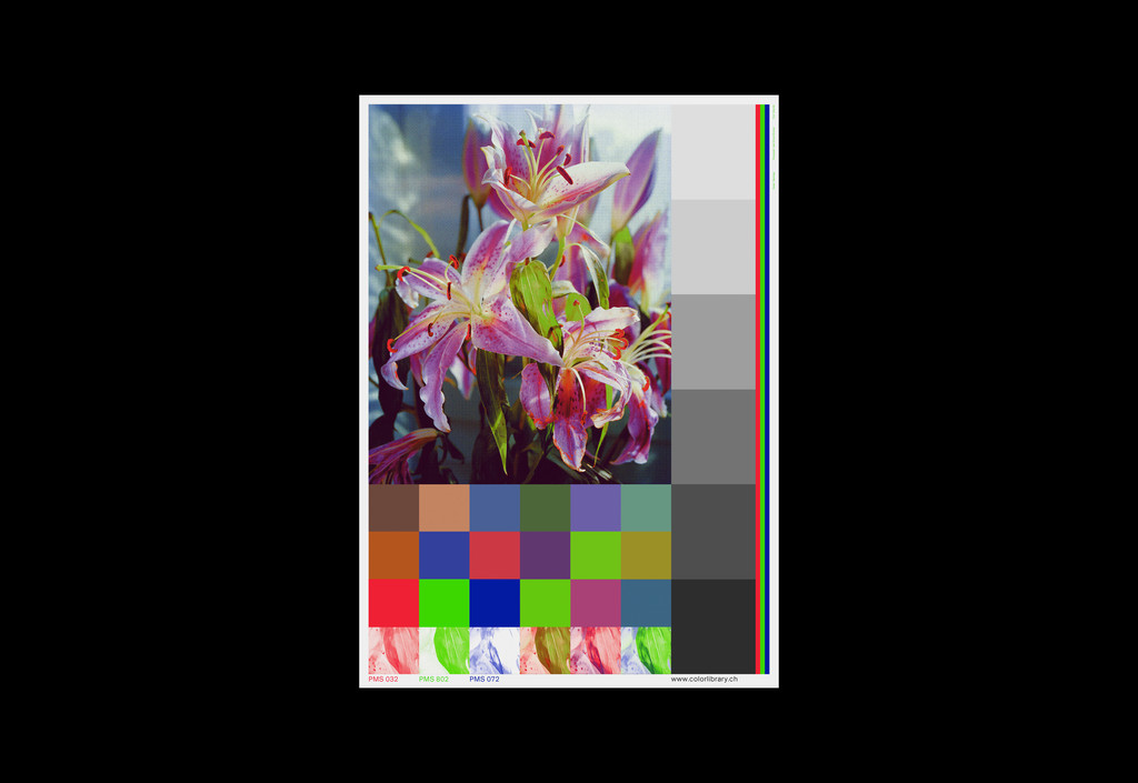 Color Library – Automated Color Separation - © Maximage