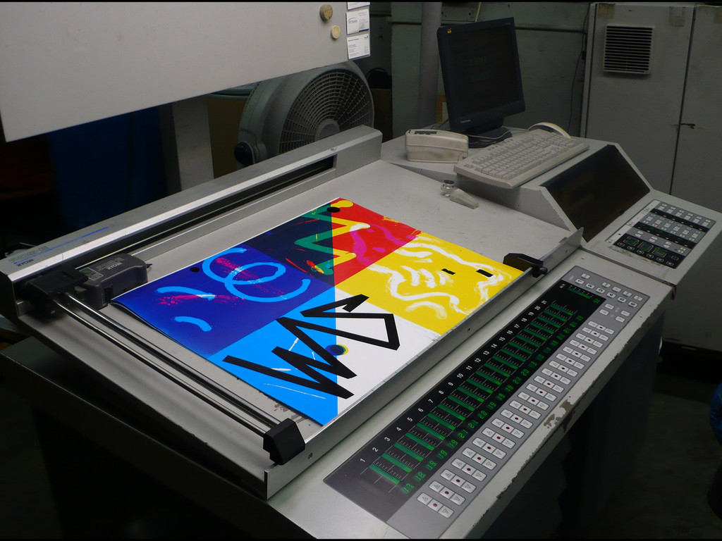 Experience in Offset Printing - © Maximage