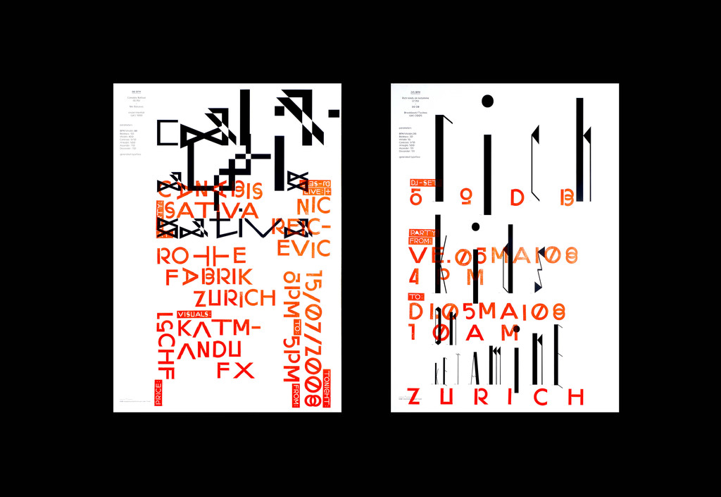 Typeface as Program - © Maximage